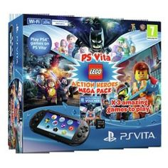 Buy PS Vita Console and LEGO Bundle at Argos.co.uk - Your Online Shop for PS Vita consoles.