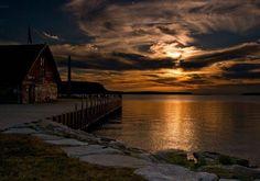 Sunset, Ephraim, Wisconsin
