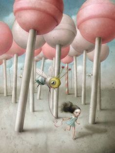 Pencils and Fireflies: The Enchanting Art of Nicoletta Ceccoli