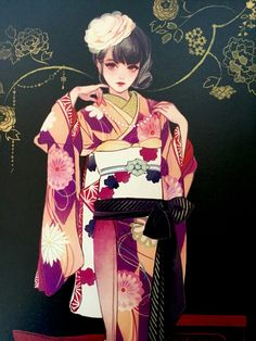 Anime style artwork +