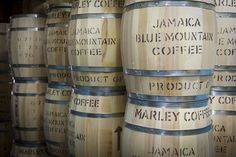 The world's second most expensive coffee...Jamaica Blue Mountain Coffee...Yum!