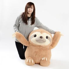 picture of Namakemono no Mikke Plushie (Super Jumbo) 1