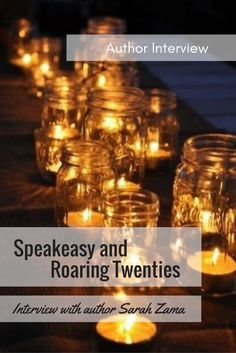 How history shapes fantasy. Speakeasy and the Roaring Twenties life - Interview with author Sarah Zama