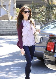 Ashley Greene in MiH jeans