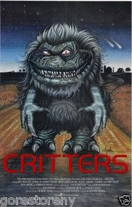 movie posters from the 80s | Critters Movie Poster Horror 80s Sci Fi | eBay