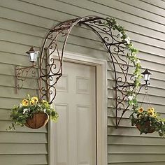 Over-the-Door Arch Trellis: