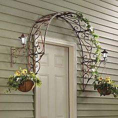 Over-the-Door Arch Trellis: