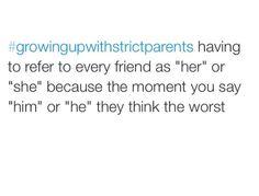 #growingupwithstrictparents my life