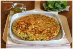 Dinner in a hurry - Vegetable Frittata