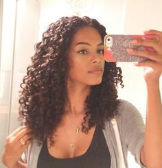Love SunkissAlba if you have and love curly hair check out her YouTube channel!!