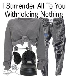 """""""Withholding Nothing--"""" by ja-la ❤ liked on Polyvore featuring Bling Jewelry, NIKE and Blue Nile"""
