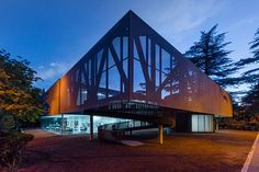 laboratory of architecture 3's mediatheque fills the deficit of the cultural facilities in tbilisi