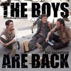 The Walking Dead Boys <3