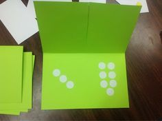 Using double flap cards for addition and subtraction facts and decomposing numbers.