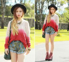 lookbookdotnu:    Dip Dye (by Chloe T)