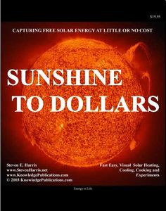 Sunshine To Dollars by Steven Harris.  Very informative; even has info on where to get glass and PV panels for free.