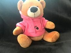 Collectable Cuddles collection soft bear plush - Pink hoodie Good Condition