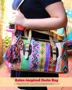 iLoveToCreate Blog: Aztec-inspired Derin Bag