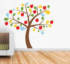 counseling office/room decor - Apple Tree Wall Sticker