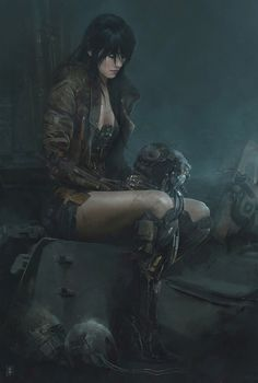 CYPULCHRE, redskullsmadhouse:     No Ghost. by  Eve Ventrue