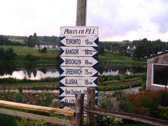 Signs . Prince Edward Island Canada Red Sand Beach, Atlantic Canada, Prince Edward Island, Anne Of Green Gables, New Brunswick, Newfoundland, Canada Travel, Nova Scotia, Lighthouse