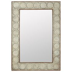Cercle Mirror - Pale Olive