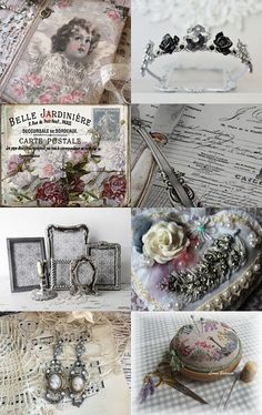 Vintage charm ...  ❀༻ by Beth Lark on Etsy--Pinned with TreasuryPin.com