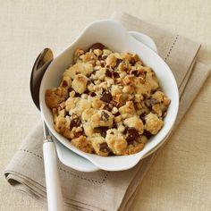 Découvrez la recette Crumble au Nutella sur cuisineactuelle.fr.