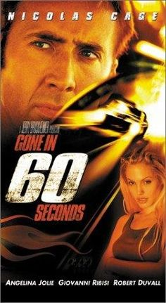 Gone in 60 Seconds is seriously one of my favorite movies