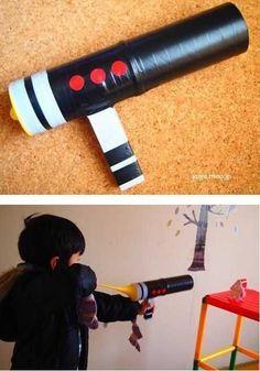 男の子 Diy Handmade Toys, Games For Toddlers, Handicraft, Kids Playing, Kids And Parenting, Kids Toys, Toys For Boys, Art For Kids, Crafts For Boys