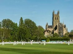 Worcester cricket club. New road