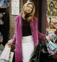 This fur coat that looks like it was stolen from Samantha Jones's closet.--- halloween?