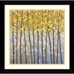 @Overstock - Artist: Libby SmartTitle: Glistening Tree TopsProduct type: Framed art printhttp://www.overstock.com/Home-Garden/Libby-Smart-Glistening-Tree-Tops-Framed-Art-Print/5587799/product.html?CID=214117 $155.99