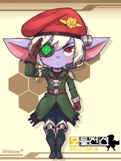 Omega Squad Tristana by Nestkeeper on DeviantArt Fanart, Character Concept, Character Art, Goblin, Poppy League, Leona League Of Legends, Anime Style, Cartoon Characters, Wallpaper