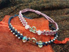 Jozi's Handmade Jewels, Art And More!: Βραχιόλια με χάντρες, αλυσίδα, πλεκτα, μακραμέ κτλ Beaded Bracelets, Jewelry, Fashion, Moda, Jewlery, Bijoux, Fashion Styles, Pearl Bracelets, Schmuck