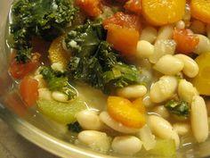 Mmmmm this Crock Pot Tuscan Bean Soup recipe looks YUMMY! http://www.mamavation.com/2012/01/healthy-crock-pot-tuscan-bean-soup-recipe.html