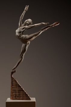 For Sale on - Sissone, Half life, Bronze by Richard MacDonald. Offered by Dawson Cole Fine Art. Wall Sculptures, Sculpture Art, Ceramic Sculpture Figurative, Art Reference Poses, Oeuvre D'art, Metal Art, Art Nouveau, Art Deco, Sculpting