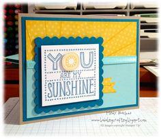 Bada-Bing! Paper-Crafting!: You are my sunshine!