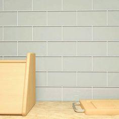 Shop For Light Gray Subway 5.5 Square Foot Tiles (44 Pieces Per Unit).