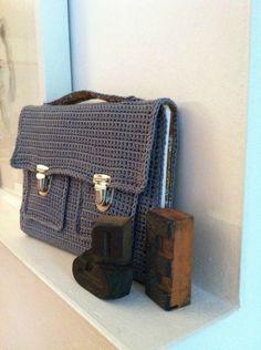 schooltas / crochet