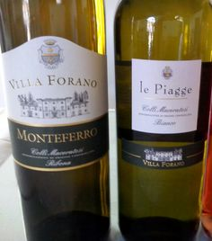 Le Piagge e Monteferro Ribona Doc - Villa Forano www.fattoriaforano.it