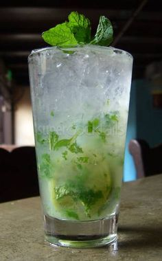 Mojitos - my favourite cocktail at the moment.