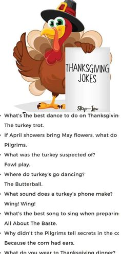 30+ FUNNY Thanksgiving Jokes
