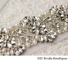 9fbe0cf4d 78 mejores imágenes de Apliques de pedrería para novia