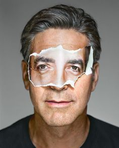 View George Clooney with Mask, Brooklyn, from the series Portraits by Martin Schoeller on artnet. Browse more artworks Martin Schoeller from OstLicht. Gallery for Photography. Martin Schoeller, George Clooney, Sean Combs, Jeff Koons, Annie Leibovitz, Celebrity Photographers, Celebrity Portraits, Famous Portraits, Pop Art
