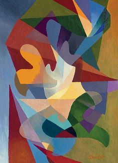 macdonald-wright artist | Stanton Macdonald-Wright Works on Sale at Auction & Biography ...