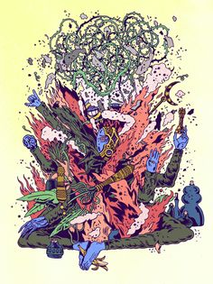 Niv Bavarsky : Illustration