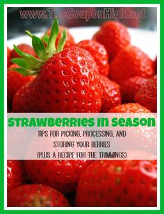 Strawberries-Produce-Tips