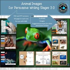 Animal Pictures for Persuasive Writing Stages Stages Of Writing, Agree With You, Persuasive Writing, Animal Pictures, Purpose, Action, Teaching, Make It Yourself, Casual