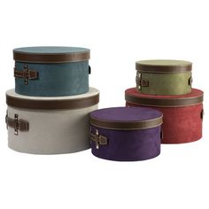I Pinned This 5 Piece Dawn Storage Box Set From The Resolution: Contain  Clutter Event · Hat ...